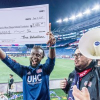 Flood relief Kei Kamara Heart Shaped Hands Foundation