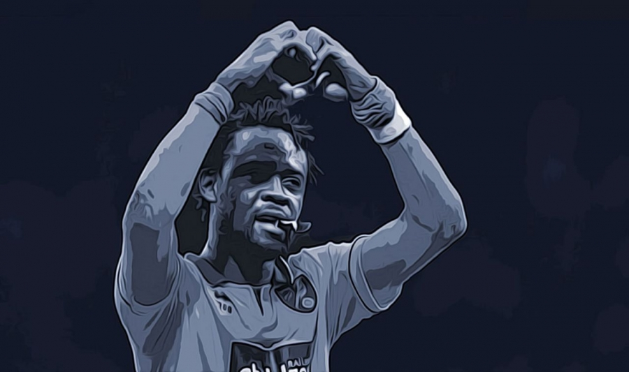 Kei Kamara, President HeartShapedHands Foundation Kei Kamara Heart Shaped Hands Foundation