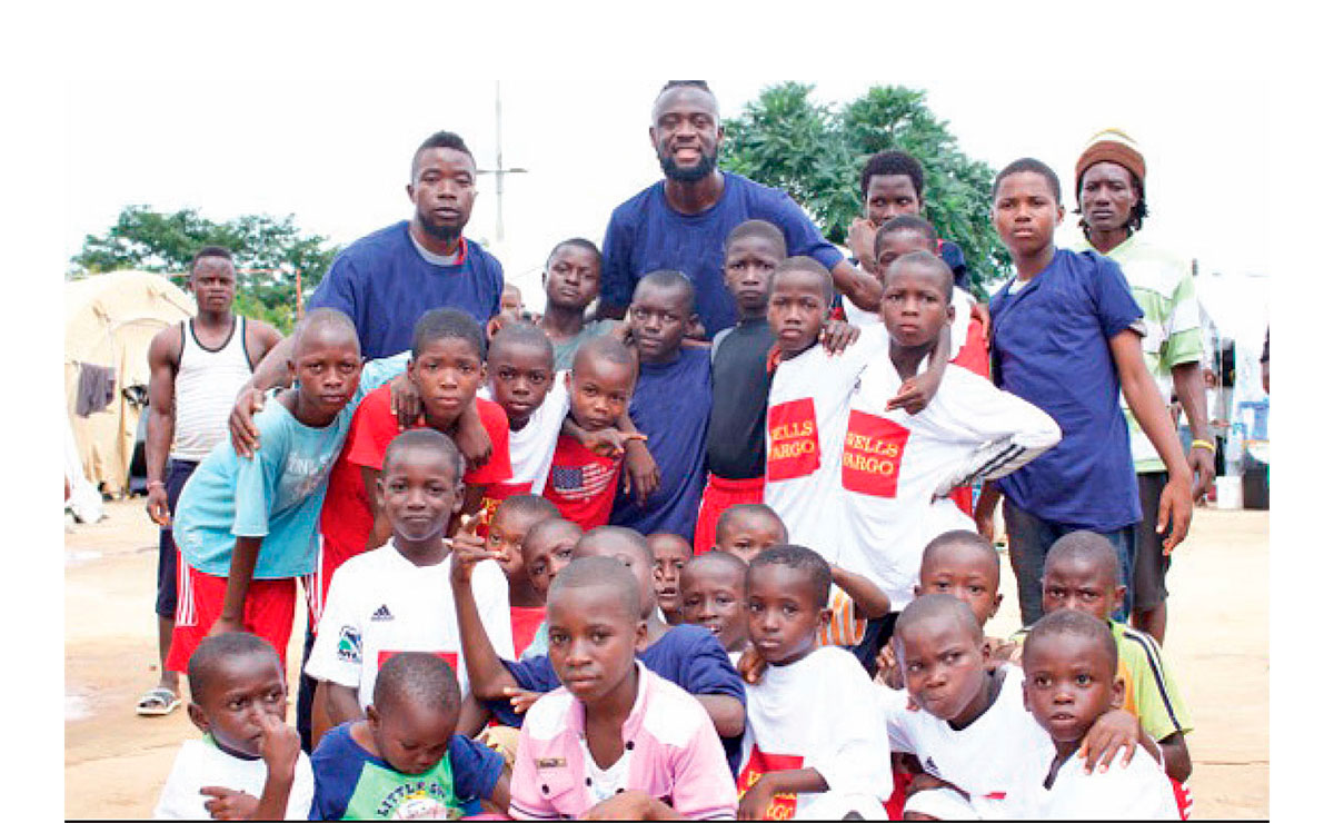 Equipment Drive Kei Kamara Heart Shaped Hands Foundation